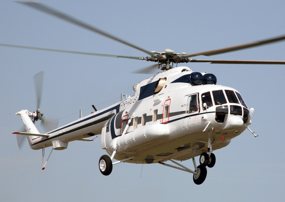 Rússia forneceu ao Brasil quarto helicóptero Mi-171A1