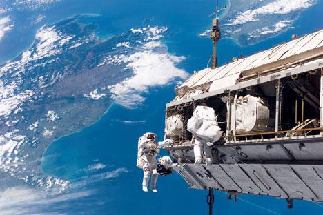 Rússia terá base orbital para serviço de manutenção de naves espaciais