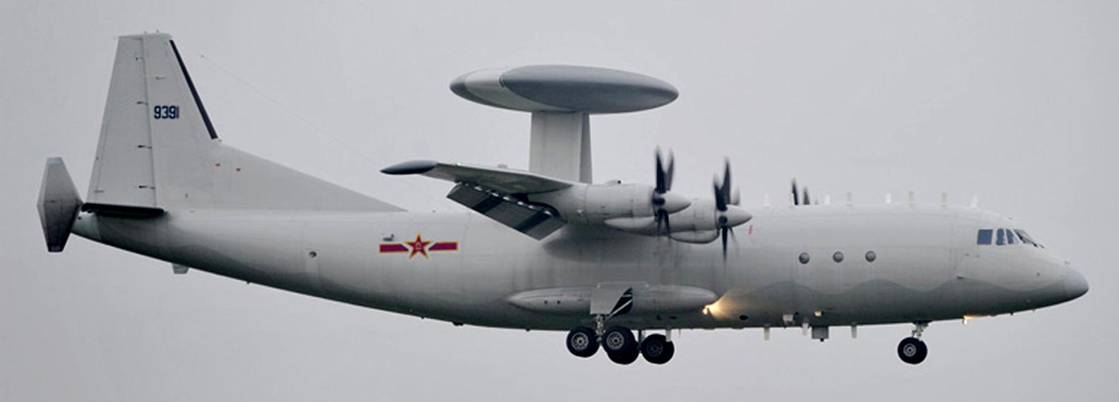 A nova geração de aviões chineses AEW&C ( Airborne Early Warning and Control System)