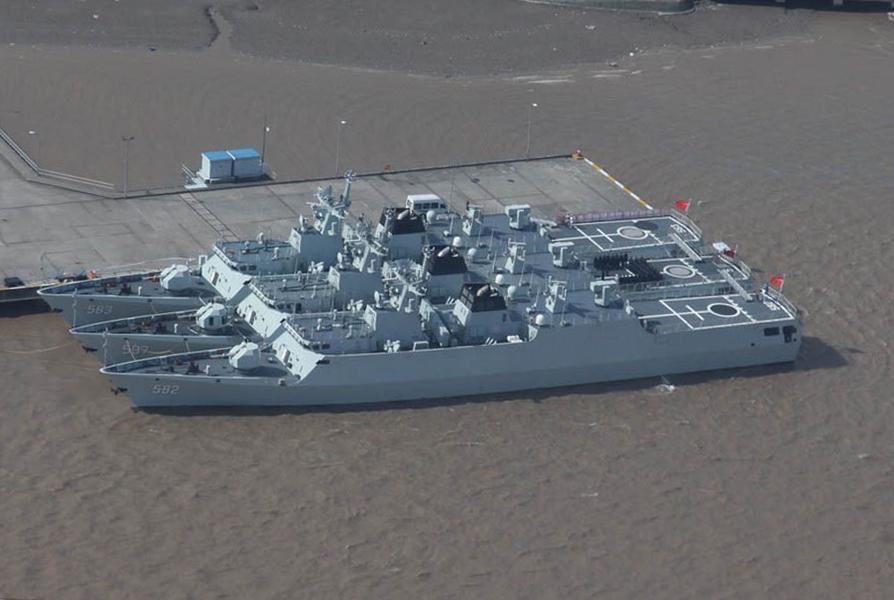 PLAN Comissiona mais uma corveta Type 56, a 584 MEISHOU