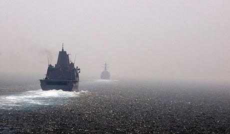 Navios de guerra dos EUA se dirigem para Egito