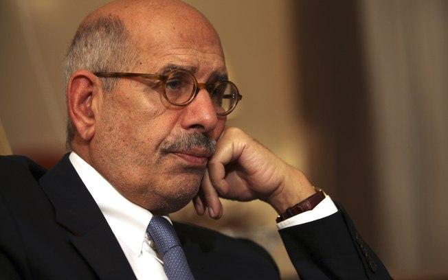 Líder da oposição Mohammed ElBaradei em foto de 24 de novembro de 2012