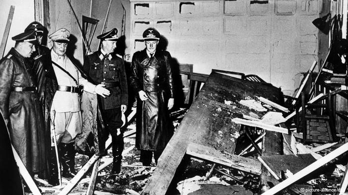 20 de julho de 1944 – Atentado de Stauffenberg contra Hitler