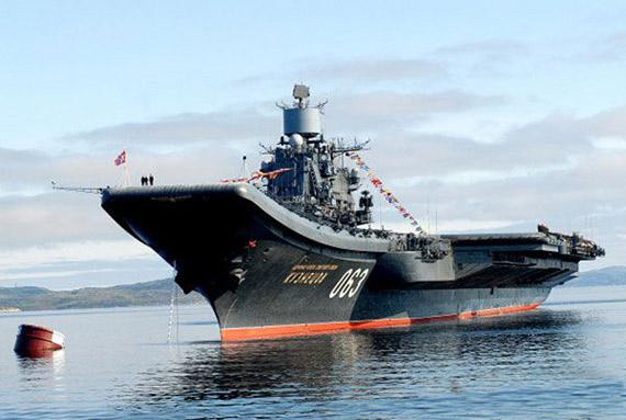 Sem a cobertura dos grupamentos aéreos a Marinha Russa está sujeita a derrota certa, num hipotético confronto com uma potência naval equipada com grupos embarcados de caças ou bombardeiros de longo raio.