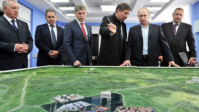 Rússia acelera os preparativos para a construção do Cósmodromo de Vostochny