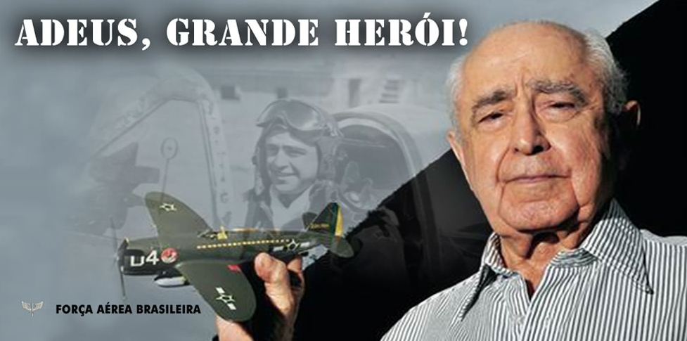LUTO – FAB chora a perda do herói Major-Brigadeiro Rui Moreira Lima