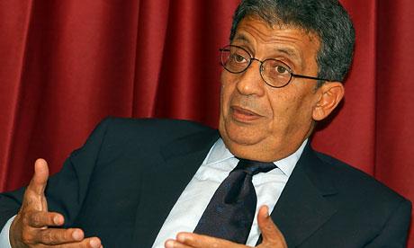"""""""Mursi nunca mais será presidente do Egito"""" – Amr Moussa"""
