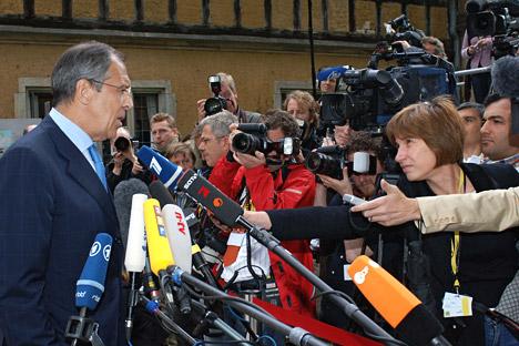 """""""Intervenção na Síria é uma catástrofe"""", diz Lavrov"""