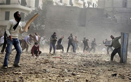 Revolução no Egito, enquanto a fumaça se dissipa