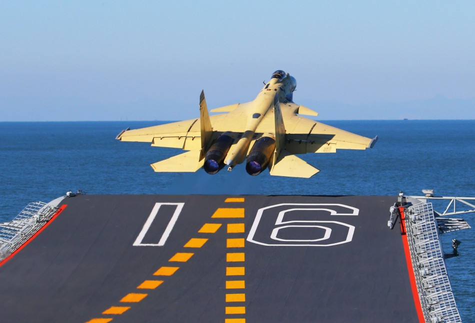 J-15-on-Liaoning