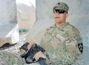 Rafael Vieira, brasileiro que combateu ao lado dos Estados Unidos, no Afeganistão em duas ocasiões, em 2010 e 2012