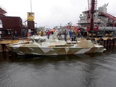 "Joint Stock Company Apresenta a Marinha russa a 1ª Embarcação Project 03160 ""Raptor"""