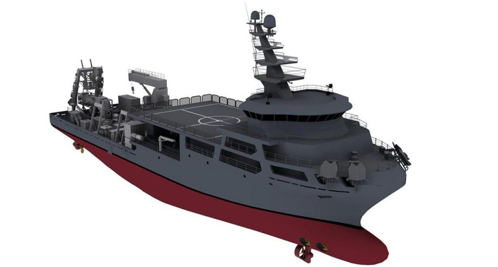 MOSHIP (Submarine Rescue Mother Ship) da Marinha Turca