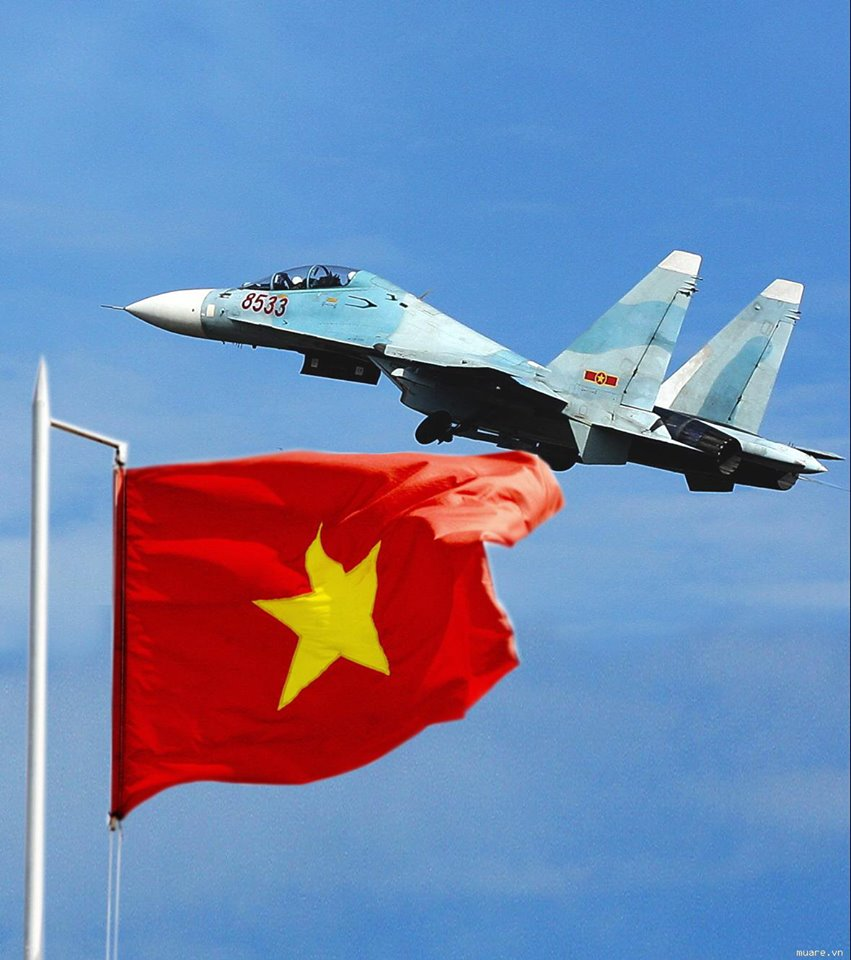 Vietnã adquire mais 12 caças SU 30MK2