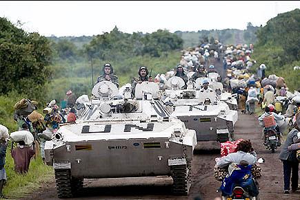 'Dezenas morrem' em combates entre forças da ONU e rebeldes no Congo