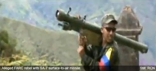 Vídeo: Confirmado, as FARC possuem MANPADS- SA-7 Strela