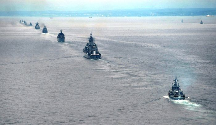 Manobras russas no Pacífico
