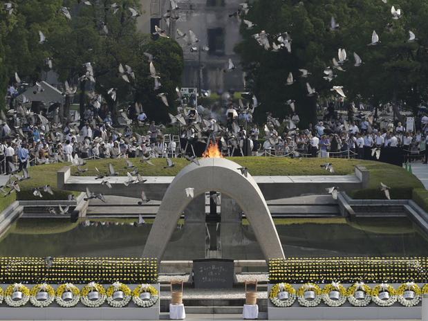 Hiroshima lembra 68 anos do lançamento da bomba atômica