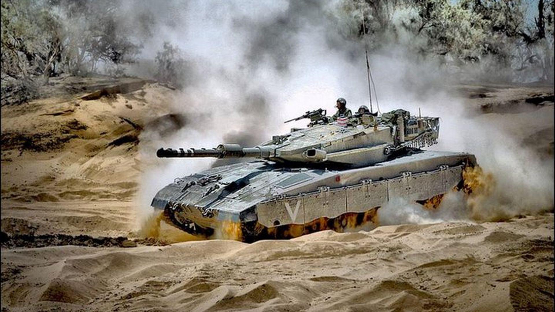 Tropas e tanques israelenses entram no Líbano