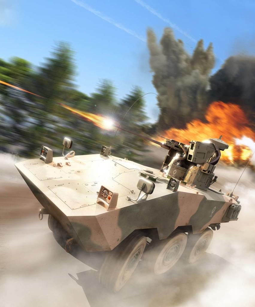 Comparações Brasil / Venezuela, uma revisão dos últimos cinco anos: VBTP-MR Guarani  x BTR-80A 8×8.