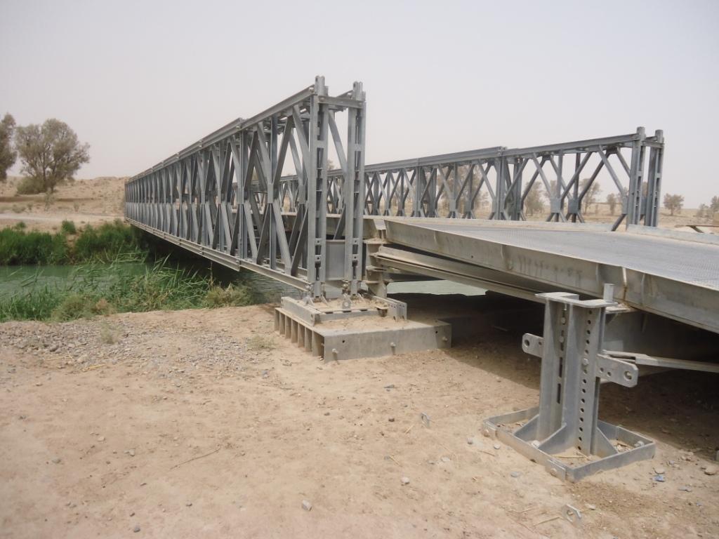 Segundo lote de pontes (LSB) Logistic Support Bridge para o Exército Brasileiro