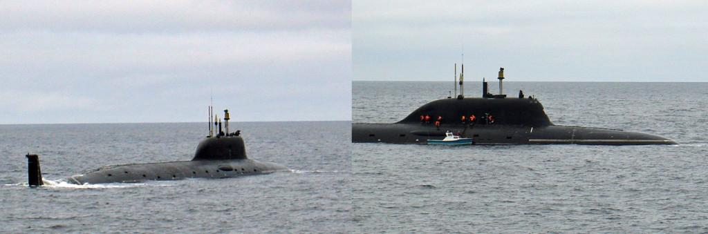Rússia – Mais10 submarinos nucleares até 2020
