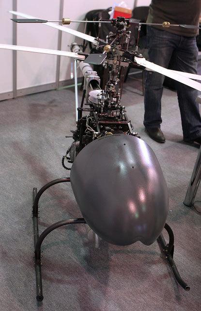 Ministério da Defesa da Rússia testará drone de combate Voron-333
