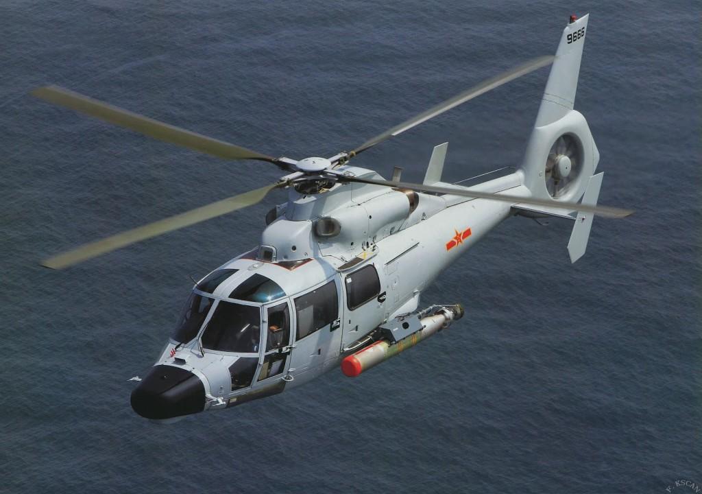 Aviação Naval Venezuelana receberá a partir de 2015, lote de helicópteros antissubmarino (ASW) chinês Harbin Z-9.