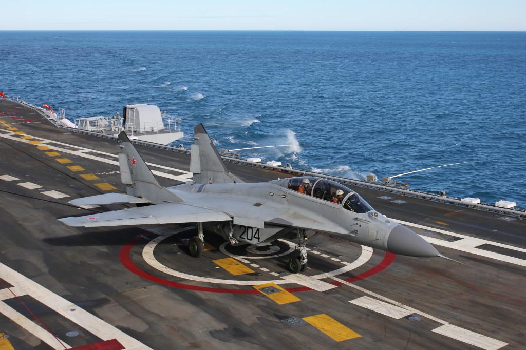 Vídeo: MiG-29K operando no INS 'Vikramaditya'