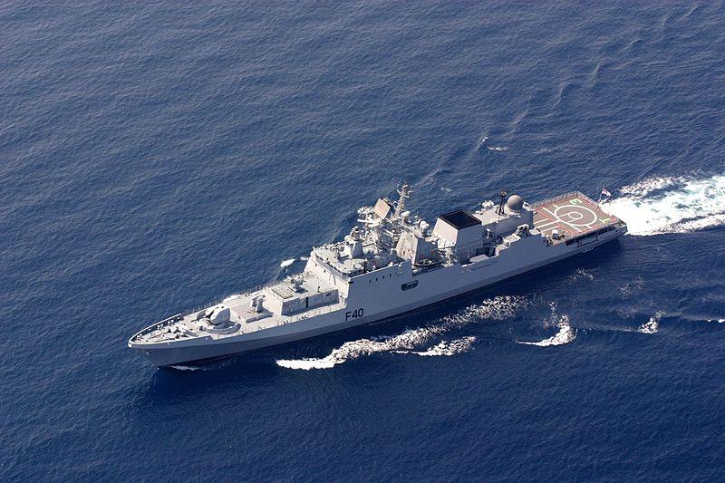 Rússia representada na exposição naval na Índia