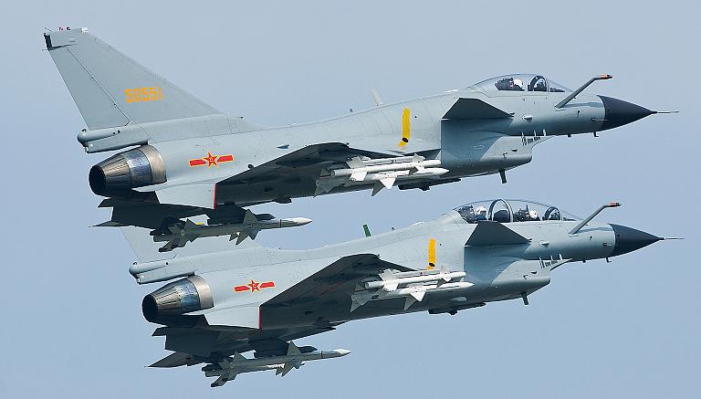 Chengdu-J-10A-PL-11+PL-8-2S