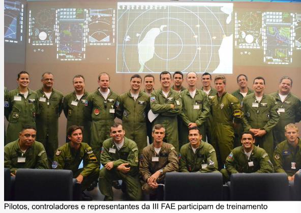 NOTAER – Pilotos de caça da FAB treinam combate além do horizonte
