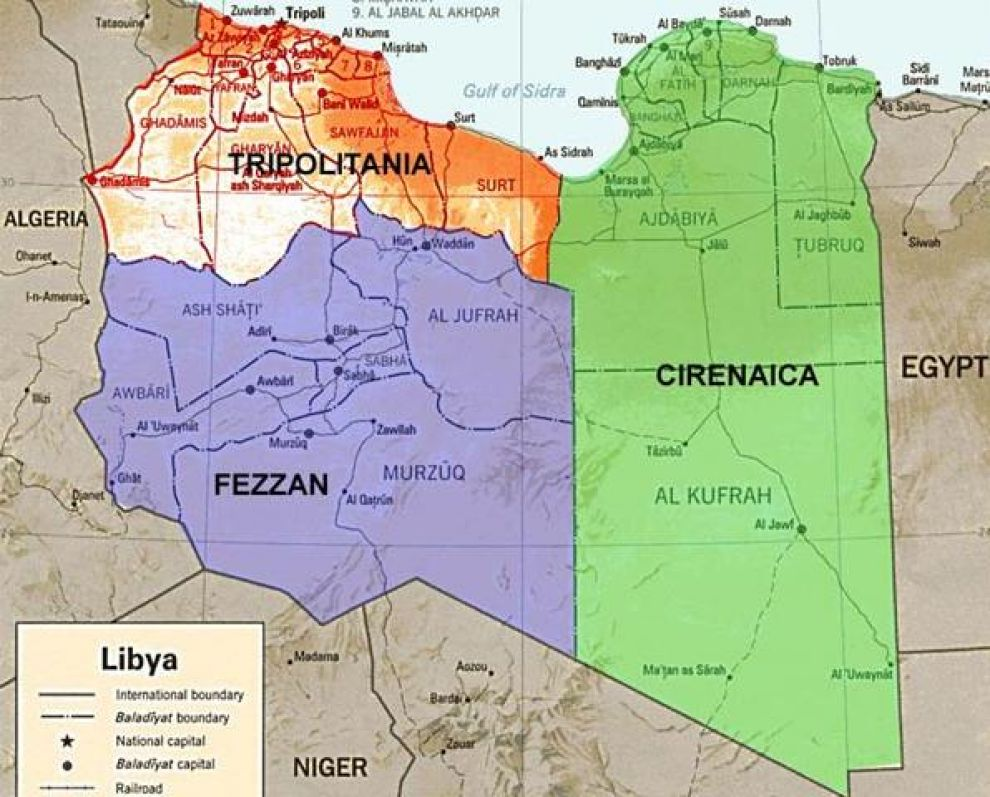 Líbia avança rumo à desintegração