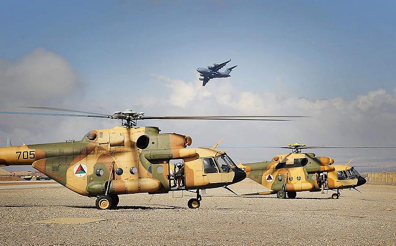 Alto secretariado da  OTAN afirma que os helicópteros Russos são os mais confiáveis e tem prestado inestimáveis serviços no Afeganistão