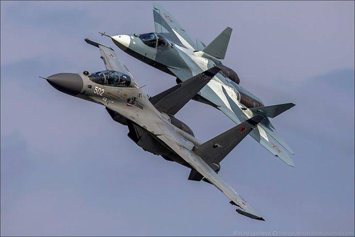 Quinta geração do Su-35S chega ao mercado externo