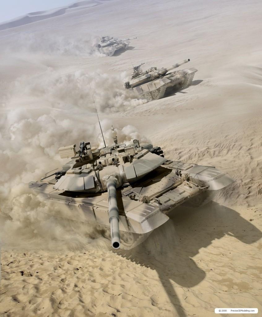 Ministério da Defesa indiano aprovou mais uma compra de carros de combate russos T-90