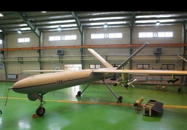 Novo UCAV do Irã Shahed-129 com raio operacional de 1700 km