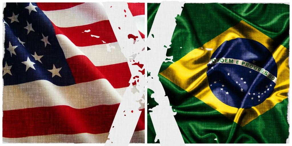 É DO JOGO POLÍTICO DE BRASIL E EUA,  DOIS PLAYERS QUE SE LEVAM A SÉRIO!