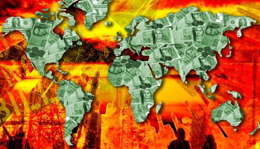 Cartografía de la crisis económica mundial