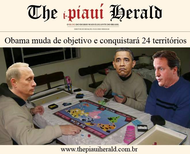 Humor: Jogos de guerra