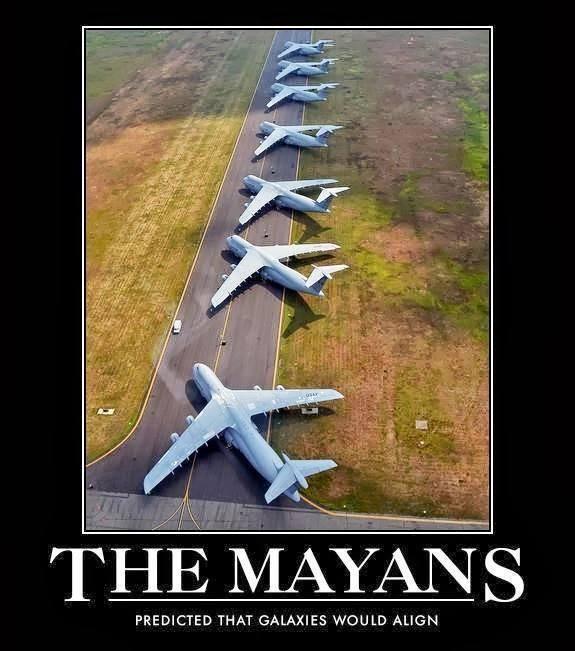 Humor: Os Mayas já tinham previsto…
