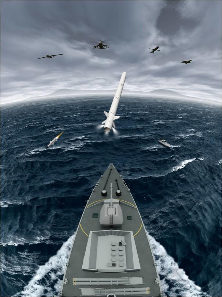 MBDA recebe contrato para produção do Sea Ceptor