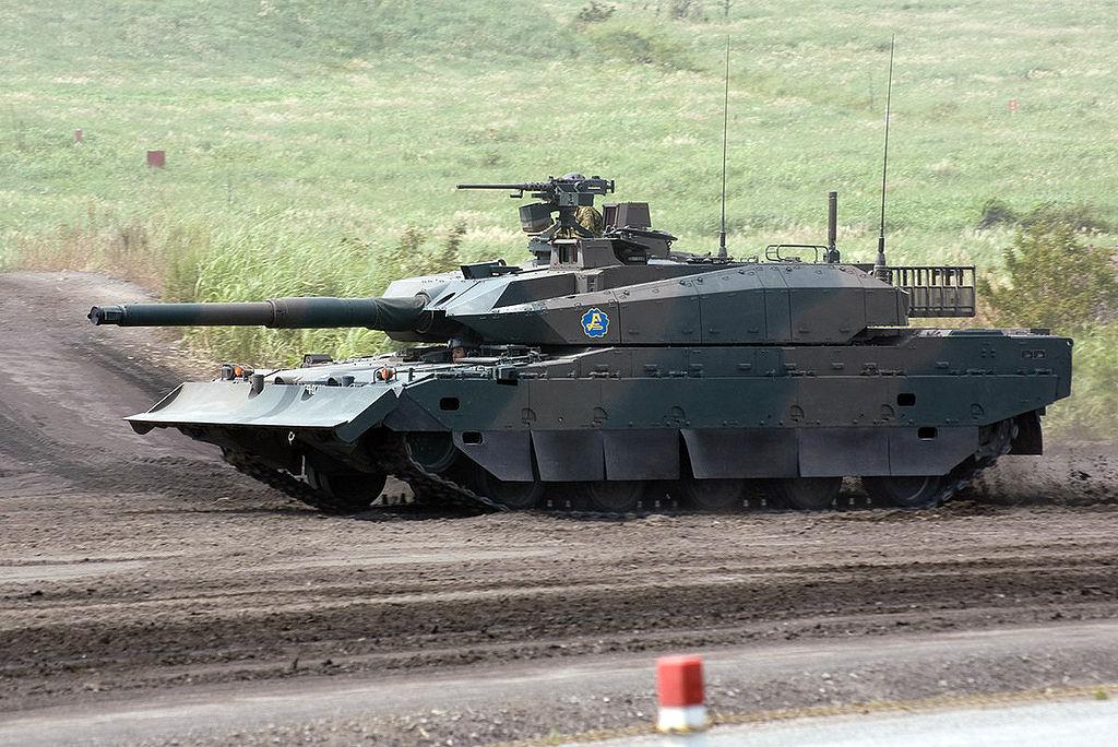 (MBT) Main Battle Tank Japonês Type10