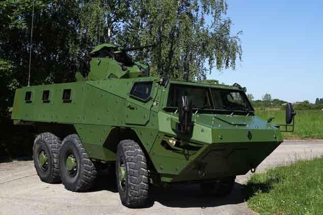 Vídeo – Renault VAB Mark3 Mk3