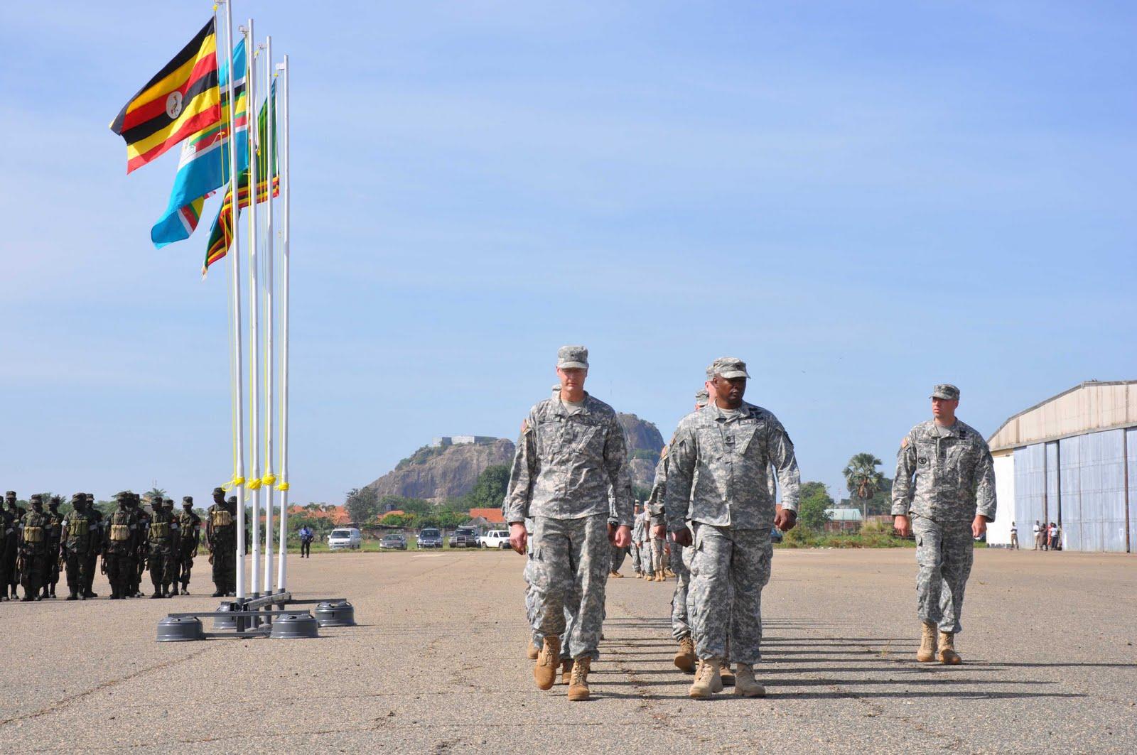 A que se deve a presença do Exército dos EUA (US Army) no Continente Africano