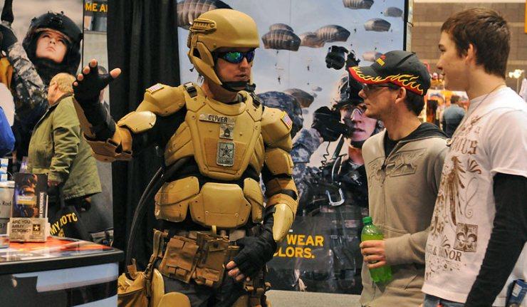 """Soldados americanos irão ter equipamento de """"Iron Man"""" (vídeo)"""