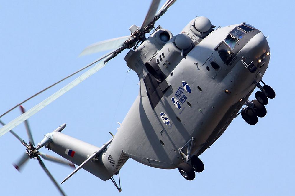 Vídeo: Helicoptero Mil Mi-26T2