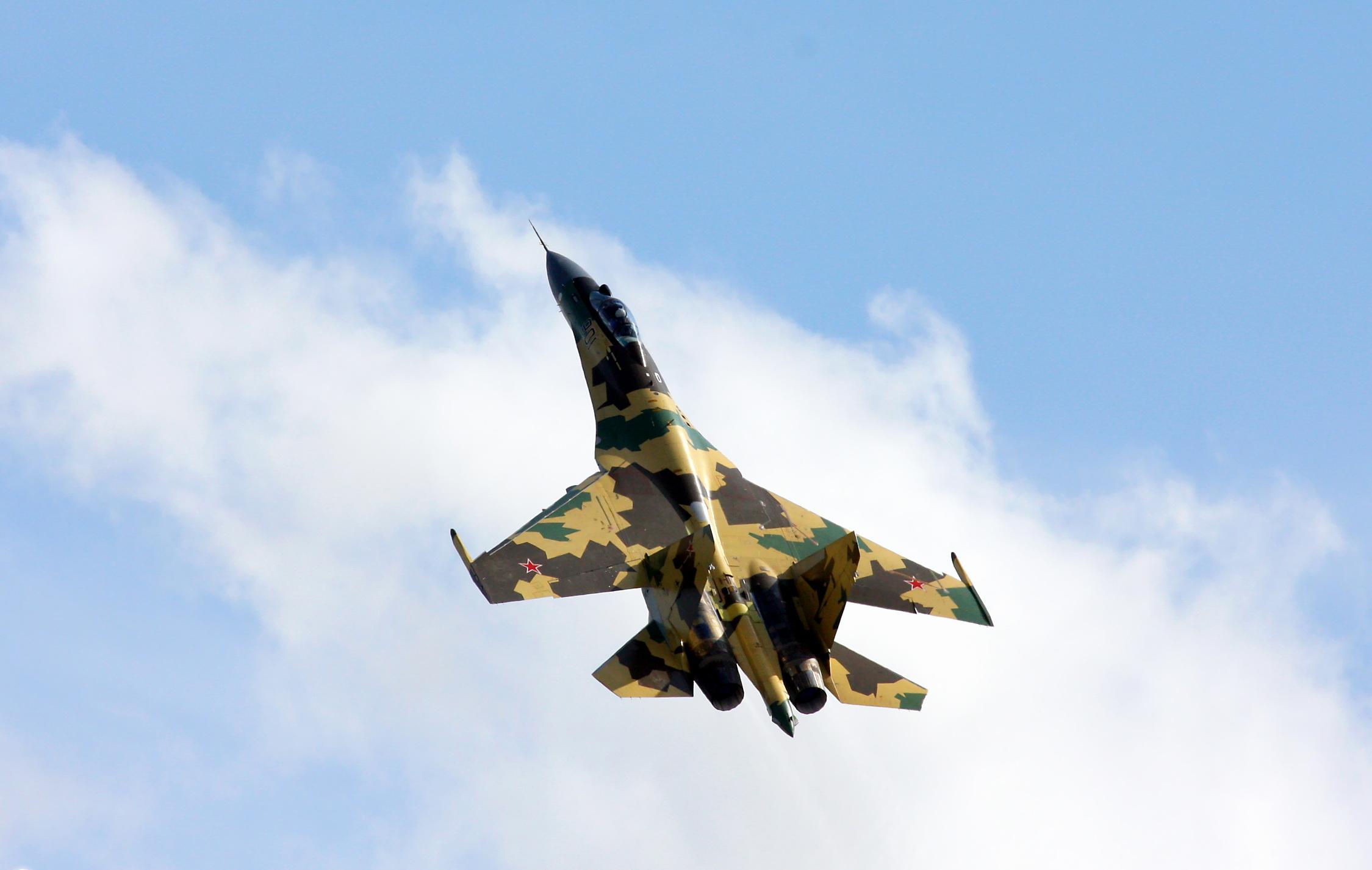 """Vídeo: """"Ave de rapina"""" que atende por Su-35S ( Flanker-E)"""