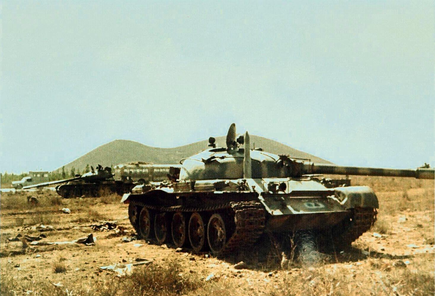 06 de Outubro de 1973: Em pleno feriado do Yom Kippur Síria e Egito atacam Israel