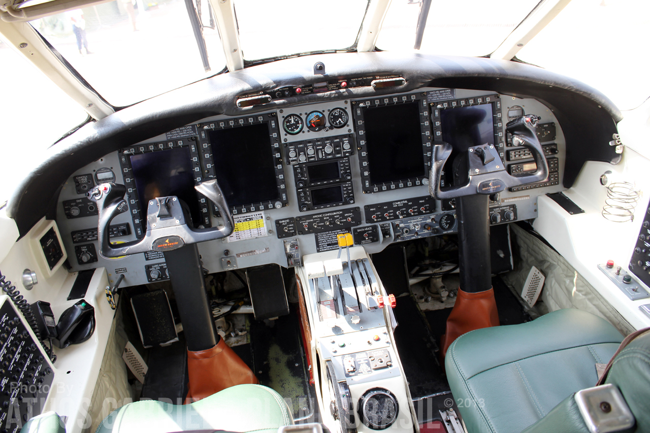 Glass Cockpit do C-95MB